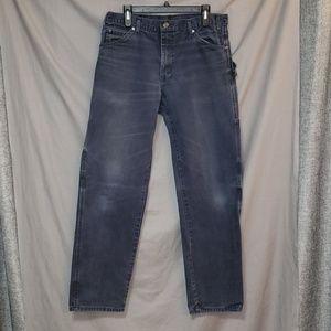 Dickies Mens Carpenter work pants 34/34 Blue